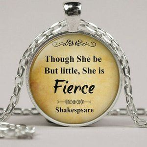 Though she be but little She is Fierce 4/$25